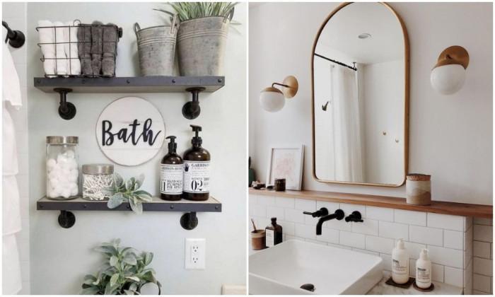 Подредена малка баня - напълно възможно!