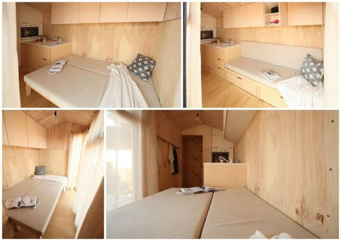 Дневна и спалня в едно в Колелиба-та