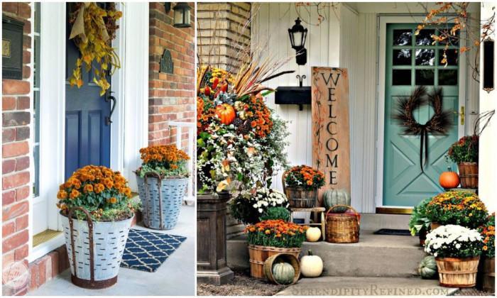 Цветна градина дори през есента