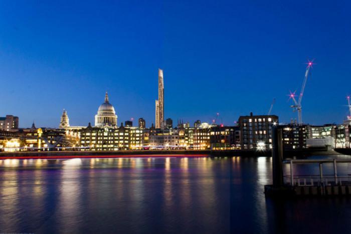 Първият дървен небостъргач в Лондон