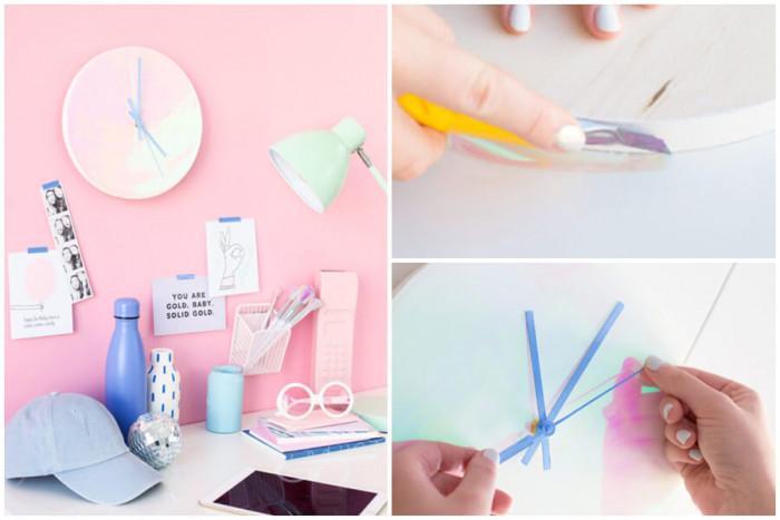 Направете стенния часовник по-цветен и интересен