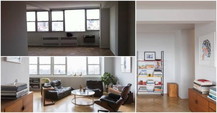 Старо жилище получава нов минималистичен облик