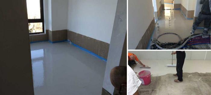 Здравословна среда за живот със саморазливни подове