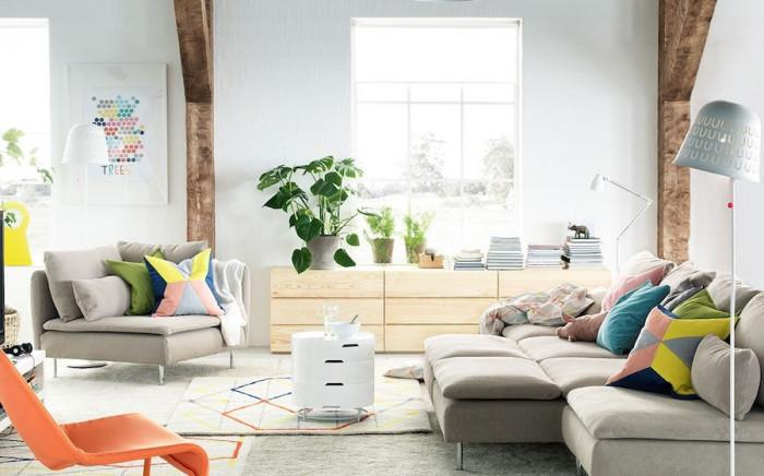 Спестяващи пространство мебели