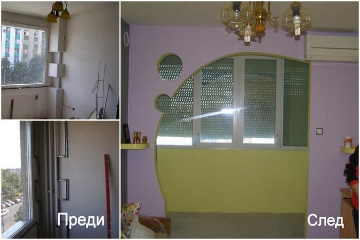Преди и след: Голите стени на апартамент в Бургас се превръщат в приветливо жилище