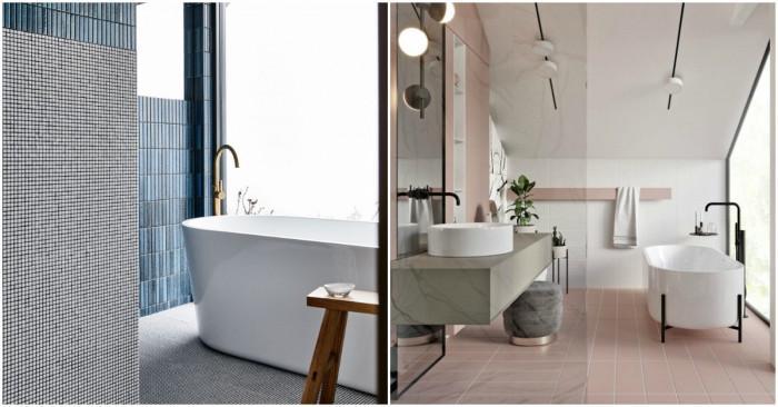 Тенденциите в дизайна на банята през 2020 г.
