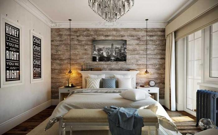 Примамливи текстури – още един плюс на спалнята в скандинавски стил