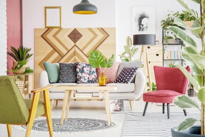 Стил Бохо – реализирайте го с щипка ярки цветове и естествени материали