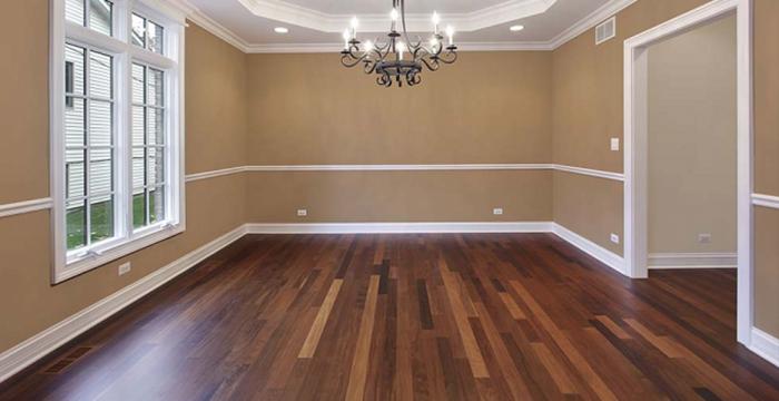 Ламинатът е добро подово покритие, но изисква грижи