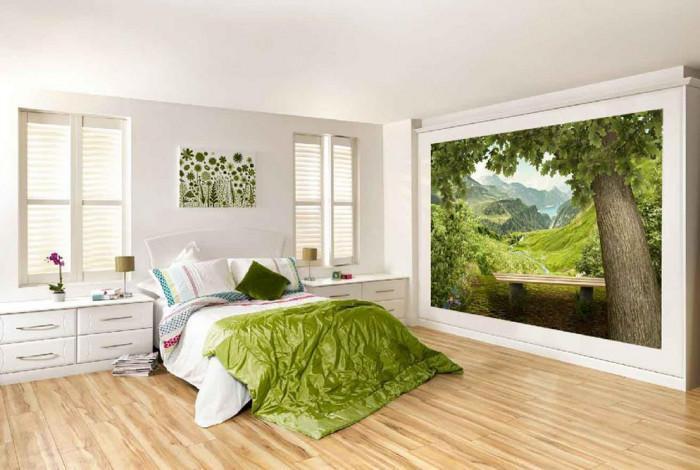 Фототапети в спалнята – красота и изящество