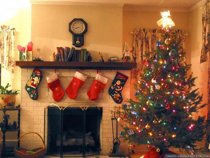 Коледни чорапи - в очакване на големите подаръци от добрия старец