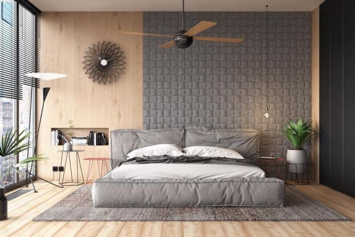 Бои или тапети са подходящи за стените в спалнята?