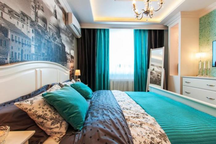 Фототапетите в спалнята през 2020 г. са на преден план