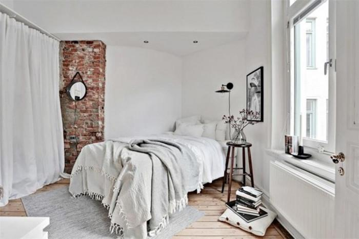 Специфика на спалнята, решена в  бохо стил