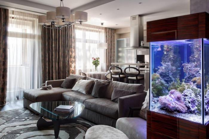 Основно правило за декориране на аквариума