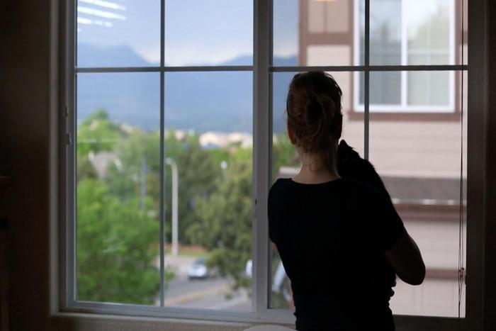 Почистване на прозорците с оцет