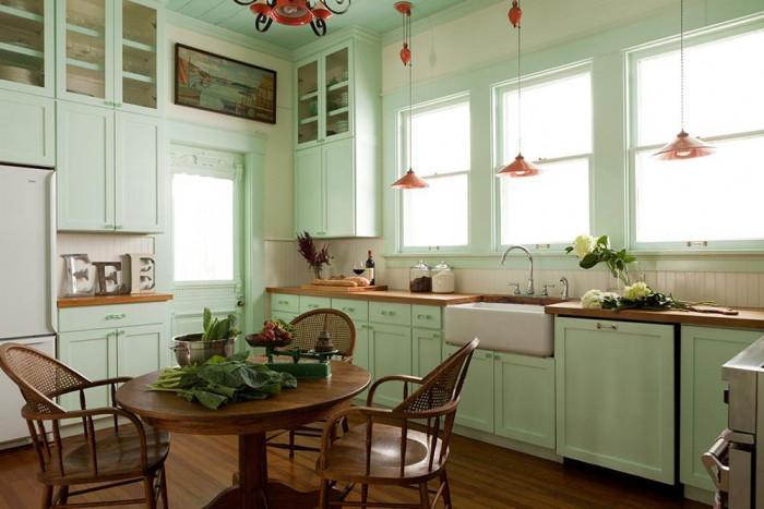 Кухня - лесно трансформиране в Бохо стил
