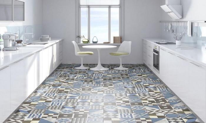 Мозайка на пода - нестандартно решение