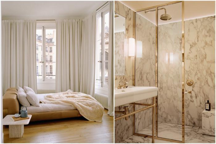 Идеална хармония в дизайна на спалнята и банята