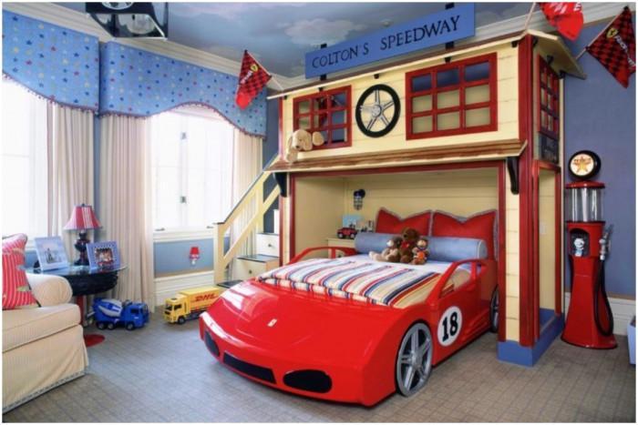 Изберете подходящи елементи, с които да създадете неповторима визия на детската стая