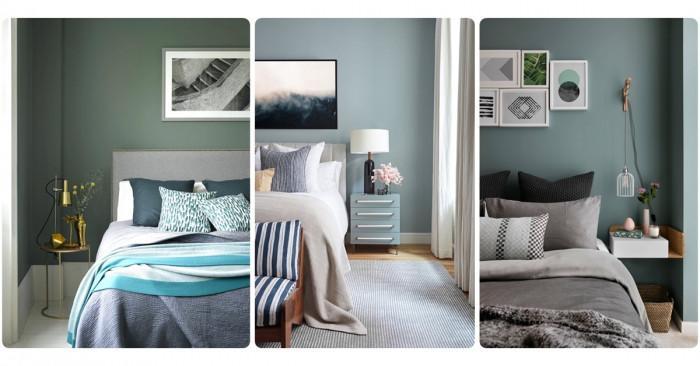 Най-модерните цветови комбинации за спалня за тази година