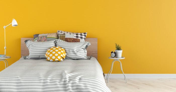 Спалня в жълто: идеи за по-слънчево пространство