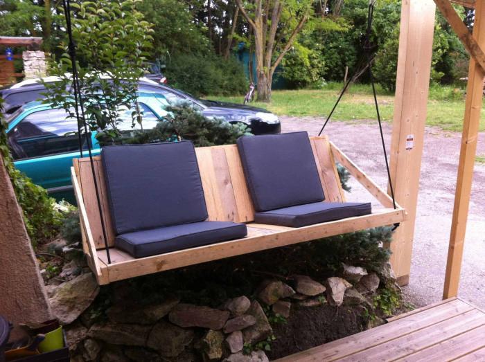 Мебели за вилата и градината от палети