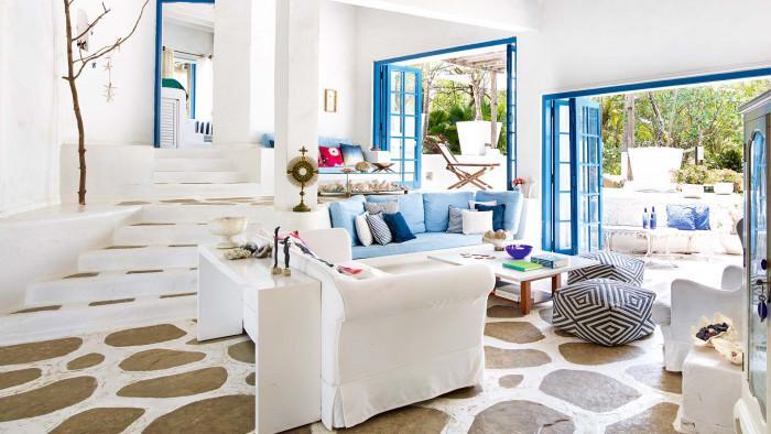 Избор на цвят за стените в дневната - съобразете се с квадратурата