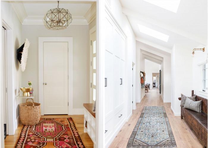 Идеи за Бохо стил в коридора