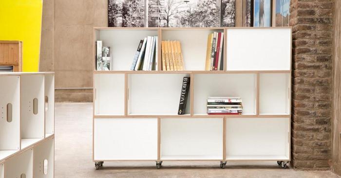 Мебели на колела за повече гъвкавост, идейност и практичност