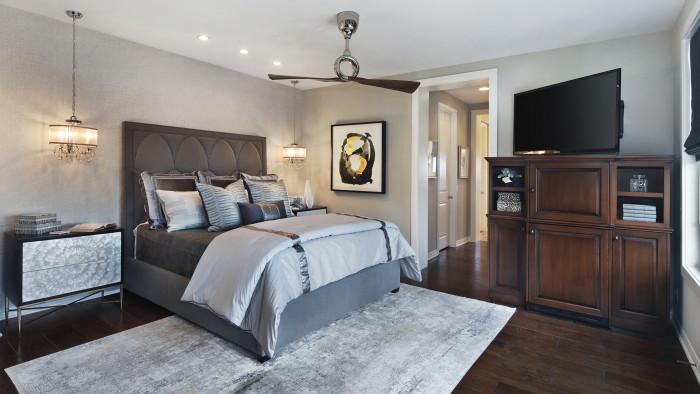 Правило №1: Изберете къде да поставите нощната лампа в спалнята