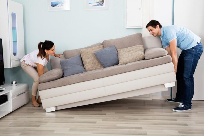 Проблемът с мебелите