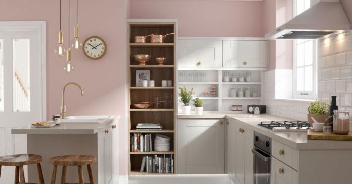 Кухня в розово… Защо не?