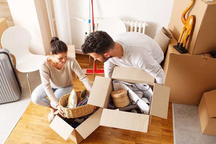 Не отлагайте подредбата на нещата в новия дом!