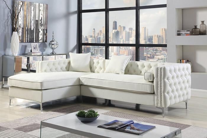 Модулен диван в светли нюанси