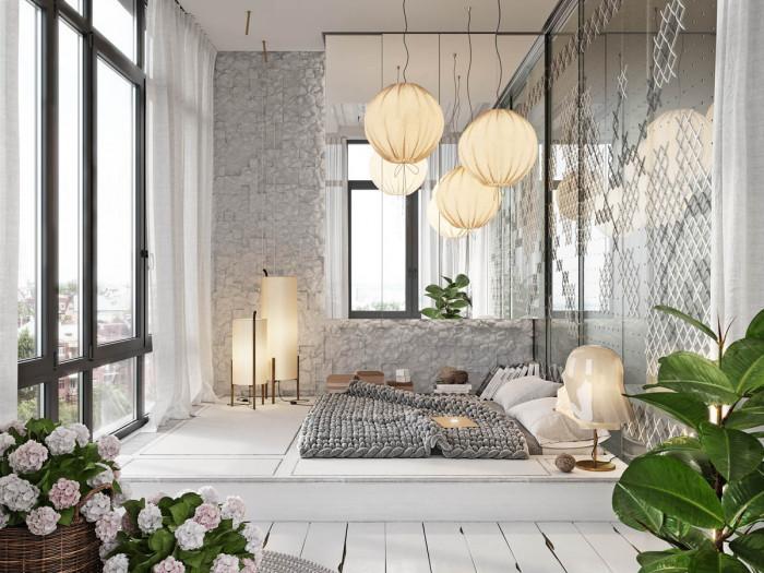 Стая с повдигнат под