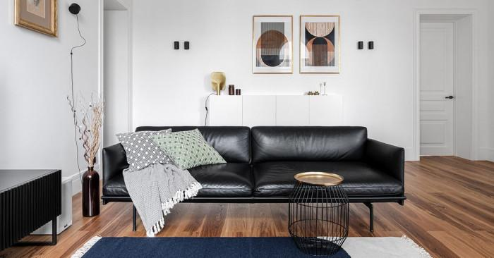 Как да комбинирате черно, бяло и златно в интериора?