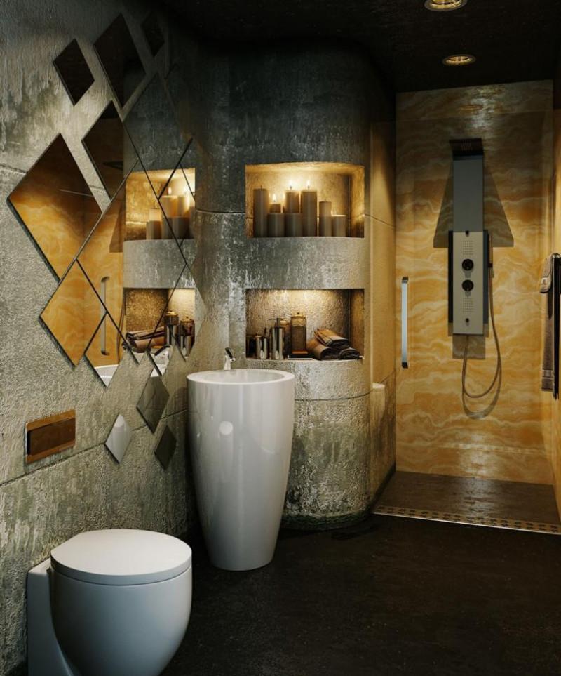 Модерен подход за дизайна в банята