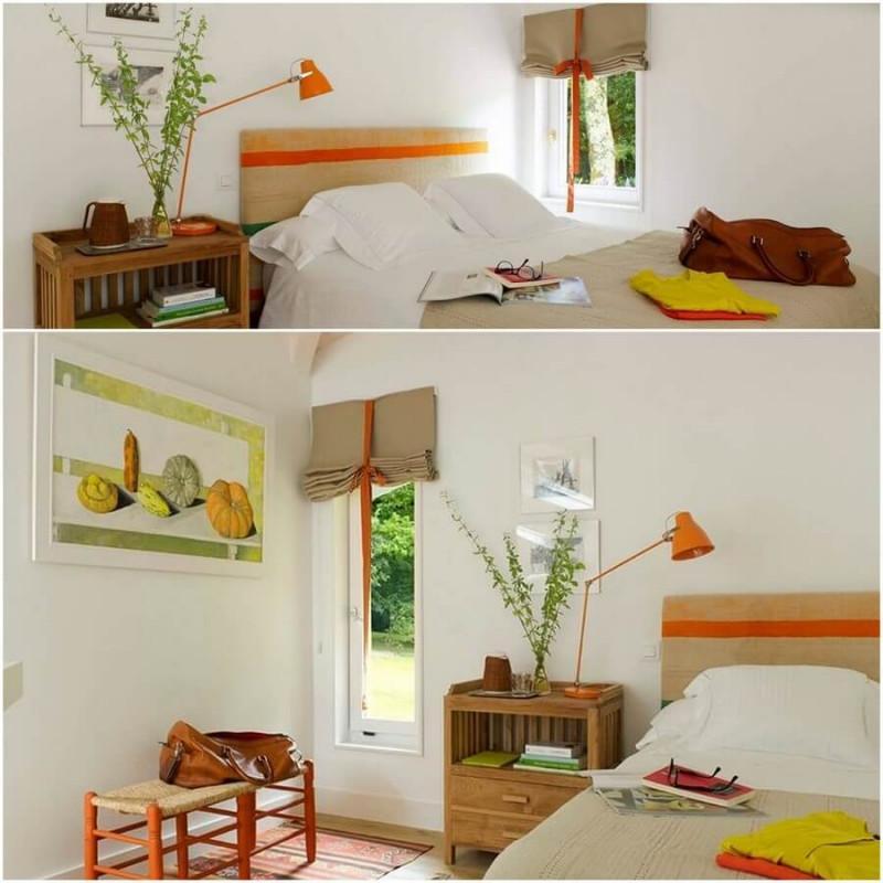 Спалнята носи свежест и разнообразие