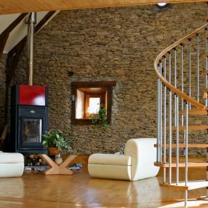 Декорация с камък в интериора на дома