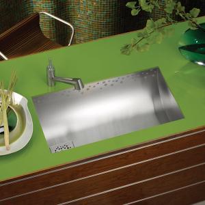Мивка с минималистичен дизайн и обло корито