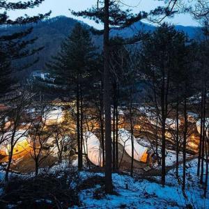 Нестандартен прочит на къмпинг, в Южна Корея