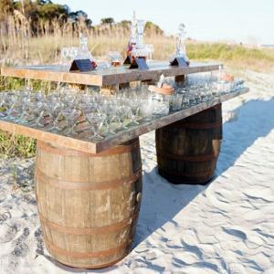7. Бар на плажа в компанията на дизайнерите