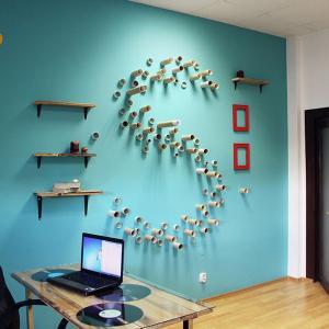Синият цвят подпомага концентрацията в офиса