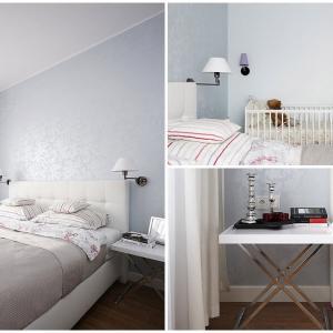 Елегантната спалня внася баланс в дизайна на жилището