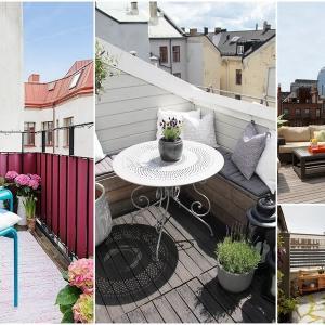 Основните разлики между балкон и тераса