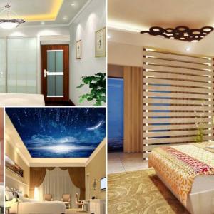 Различни видове окачени тавани за спалня