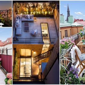 Основни разлики между балкон и тераса