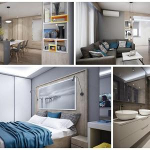 Интериорен дизайн на апартамент в квартал Бояна