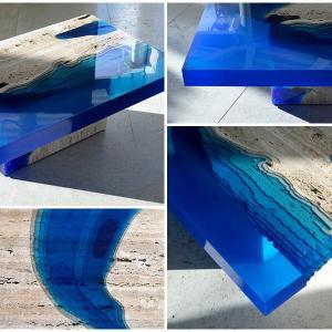 Маса, вдъхновена от морското дъно
